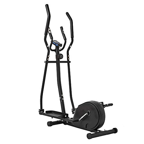 Zhengowen OS Macchina ellittica Macchina ellittica Cross Trainer 2 in 1 Cyclette Cardio Fitness Home Gym Equipment for Le Piccole stanze, Appartamenti Macchina ellittica Cross Trainer