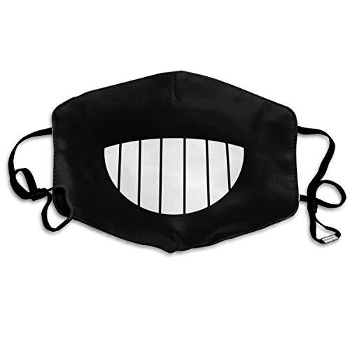 Miya-Zaki Totoro Smile Dust Mask Washable and Reusable Adjustable Face Masks Unisex