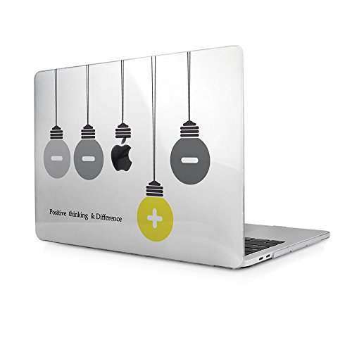 """Cover MacBook Pro 15 Touch Bar, TwoL Custodia Protettiva Rigida Cover per Nuovo MacBook Pro 15"""" A1707 Touch Bar 2016 2017 (lampada 3)"""