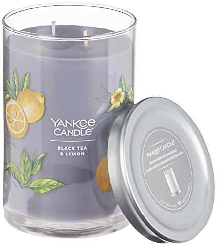 Yankee Candle Black Tea & Lemon Signature Large Tumbler Candle