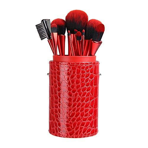 Pinceau de maquillage, 10 bâtonnets, ombre à paupières, pinceau à sourcils, pinceau à lèvres, rouge