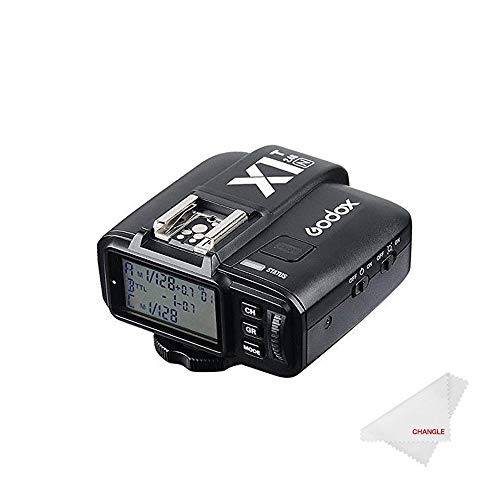 【Changle一年間保障】Godox X1T-N TTL Wireless Remote Flash Trigger for Nikon ワイヤレスカメラリモコ...