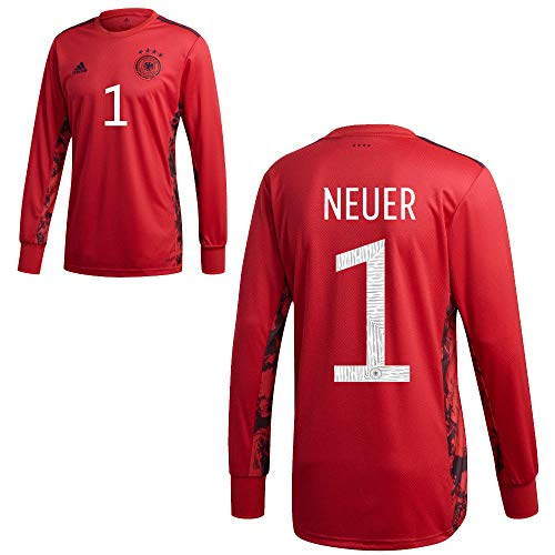 adidas DFB Deutschland Home Torwart Trikot Heimtrikot EM 2020 Kinder Neuer 1 Gr 176