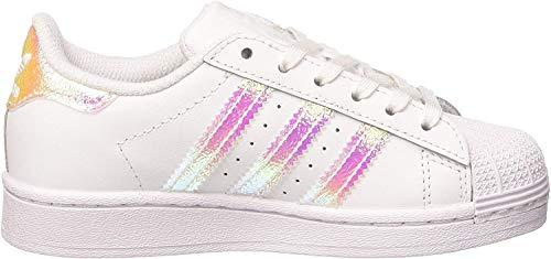 Adidas Originals Uniseks Dziecięce Buty Sportowe Superstar, Biały, 35 EU