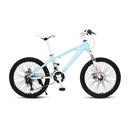 Bicicleta,bicicleta de montaña de 24 velocidades y 20 pulgadas,bicicleta de choque para adolescentes, con marco de acero de alto carbono, fácil de instalar, freno de disco mecánico, para niños o