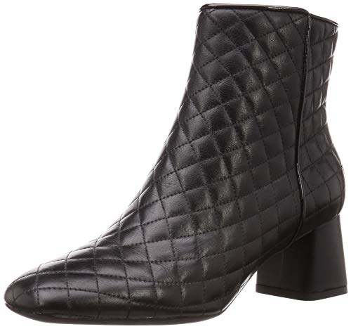 GEOX D SEYLA Enkellaarzen/Low boots dames Zwart Enkellaarzen