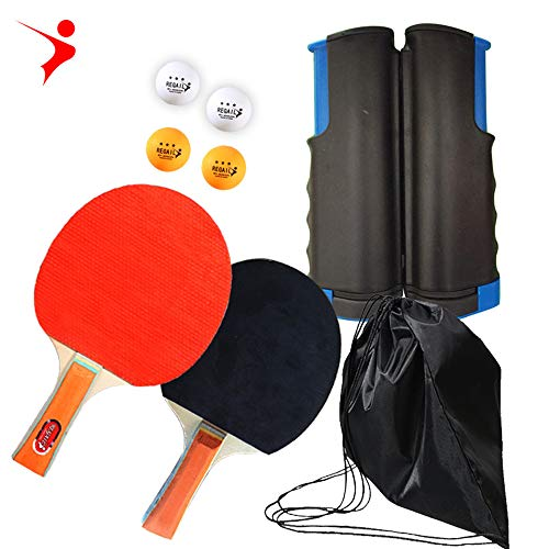 Lowest Prices! DJRH Ping Pong Paddle, Ping Pong Paddles with Carry. 2Pack Professional Table Tennis ...