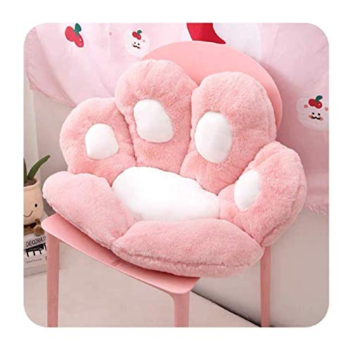 RAZIGI Cat Paw Cushion, Lindo Asiento Cojín Cat Pata Forma Forma Lazy Sofá, Oficina Acogida Asiento Cálido Almohada, Sofá De Peluche Cojín Decoración del Hogar Mat