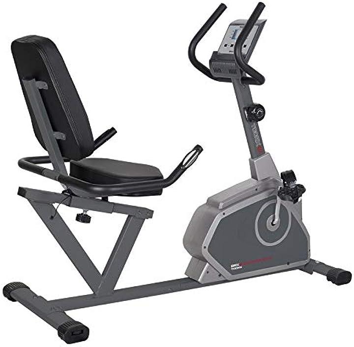 Cyclette toorx  brx r-65 comfort recumbent recline B07NL3R8X8
