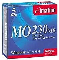 OD3-230SWINX5 3.5型MO 230MB Win/DOSフォーマット5枚入