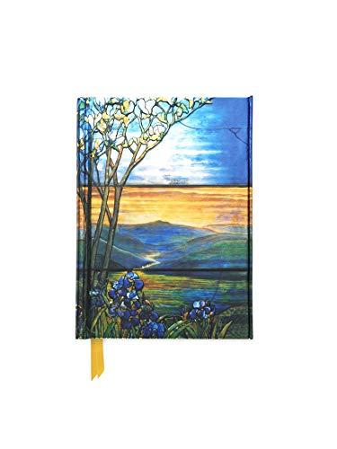 Tiffany Leaded Landscape with Magnolia Tree (Foiled Pocket Journal) (Flame Tree Pocket Books)