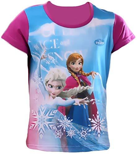 Het ijskoningin T-shirt voor meisjes Frozen volledig onbevroren maat 104 110 116 122 128