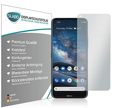 Slabo 4 x Bildschirmschutzfolie für Nokia 8.3 5G Bildschirmfolie Schutzfolie Folie Zubehör No Reflexion MATT