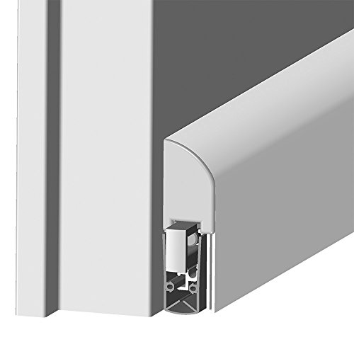 Athmer Schall-Ex L-15 FS silber 930 mm Türdichtung zum Aufschrauben Nr. 1-884