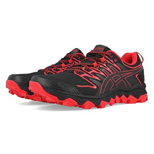 ASICS Mens Gel-Fujitrabuco 7 Running Shoes, Black, 43.5 EU