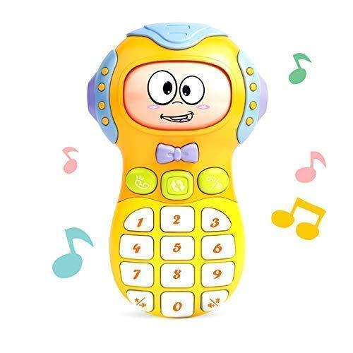SH Enterprise Smart Phone Cordless Mobile Phone Baby Funny Phone Toy Light...