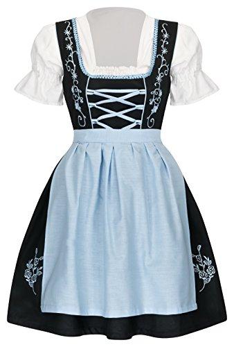 TR Martha Dirndl 3 TLG neu (38, blau)