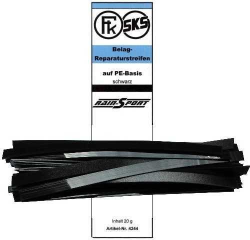 SKS Belag-Reparatur-Streifen, schwarz