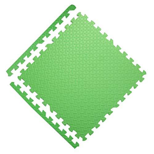 ZXPAG Alfombrilla Puzzle No Tóxico E Insípido Baldosas De Espuma Reduce El Ruido Y El Impacto para Máquinas De Deporte Y Gimnasios(5 Tabletas) -,Verde,60cmx60cmx2.5cm