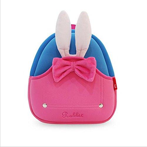Heast Baby Kids Rabbit zaino, Pink