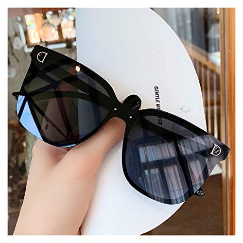 SSN Gafas De Sol Gafas De Sol Gafas De Sol Femenino Estilo Coreano InS Retro Hong Kong Viento Anti-UV Gafas De Sol Polarizadas Marco Grande