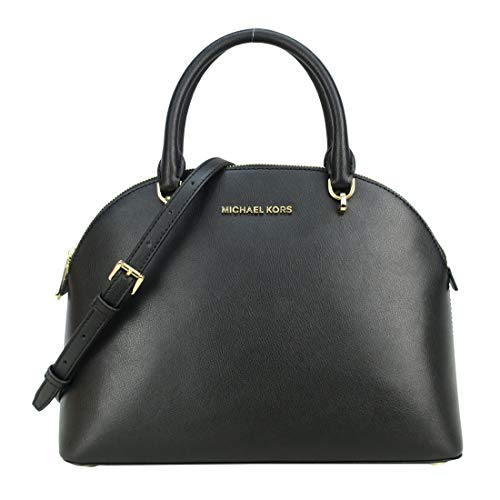 """Made of Saffiano leather Removable shoulder strap with 20"""" drop, perfect size to carry your daily essentials Interior features 2 slip pockets and 1 zip pocket 12""""L x 9.25""""H x 5.25""""D"""