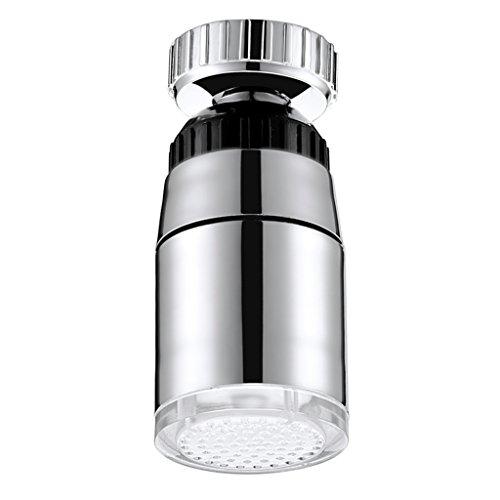 LED Wasserhahn Aufsatz Adapter 3 Farben Licht Farbwechsel Wasser Küche Badadezimmer - 3-farbig
