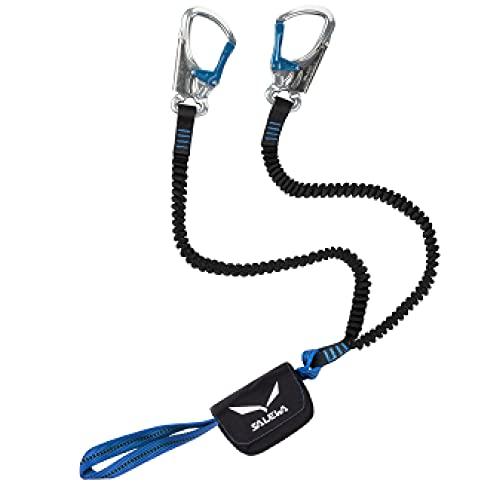 Salewa VIa Ferrata Premium Attac Set Set Via Ferrata, Unisex adulto, Silver/Royal Blue, Taglia Unica