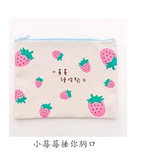 TUA Strawberry Series Estuche de oficina y suministros escolares Oxford