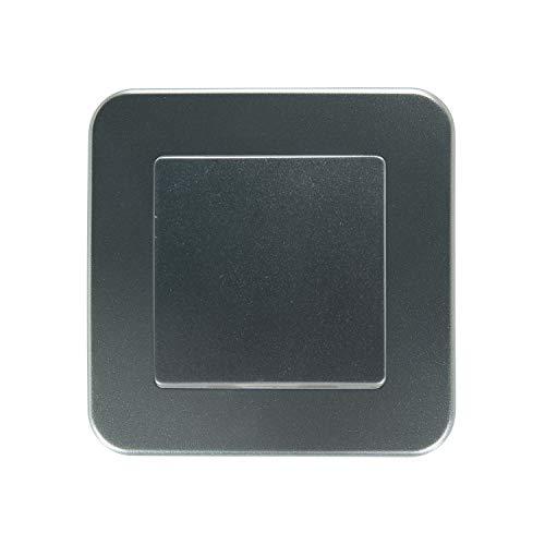 LEDKIA LIGHTING Interruptor Simple Conmutado Classic Gris