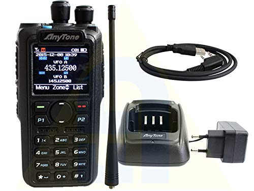 Anytone At-d878uv Plus - Rtx Dmr Portatile Con Bluetooth E Display A Colori