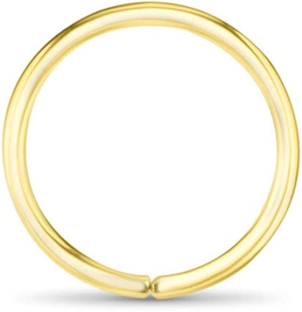 hammered solid gold nose ring textured 14k nose hoop solid gold nose hoop gold nose ring 14 k solid gold nose ring 14k gold nose hoop