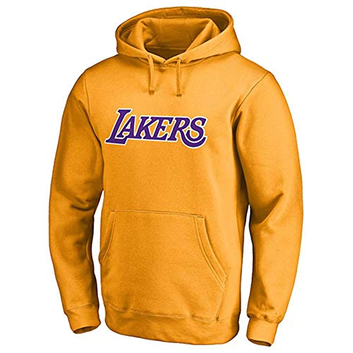 NBA Männer Hoodie Los Angeles Lakers James # 23 Trainingsanzug Basketball Hoodie Sport T-Shirt