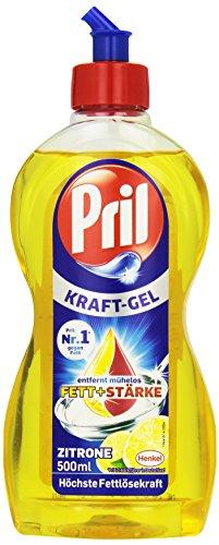 Pril Kraft-Gel Zitrone Geschirrspülmittel-Konzentrat, 500ml