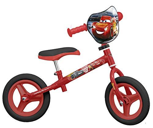 TOIMSA–Bicicleta sin Pedales para niños bajo Licencia Cars 310Pulgada (de 2a 3años, 122u