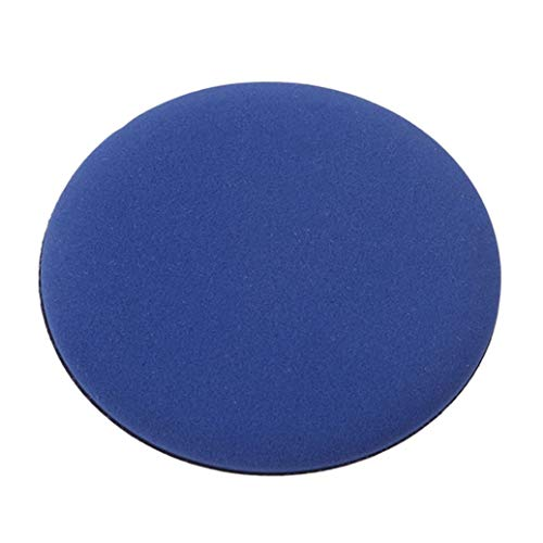 GOMYIE 7pcs ultra-doux maquillage fondation éponge air coussin poudre Puff pour l'application de crème Bb crème liquide Shading poudre lâche (bleu)
