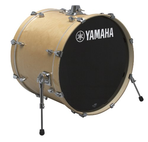 Yamaha Stage Custom Birch 18x15 Bass Drum, Natural Wood