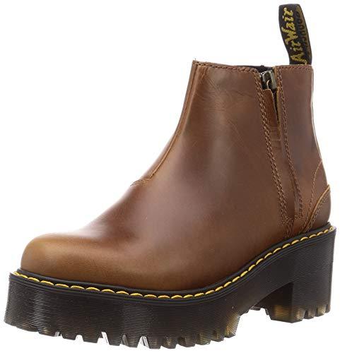 Dr. Martens Women s Chelsea Boot, Butterscotch Orleans, 9