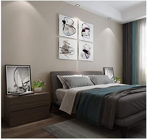 Tapete Moderne Einfachheit Einfarbig 0.53X 10 M -Grau-129 Vliestapete Wohnzimmer Schlafzimmer Restaurant Fernseher Sofa Hintergrund Wand Hintergrundbild Haus Dekoration