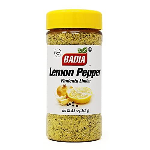 Badia Lemon Pepper, 6.5 Ounce