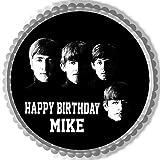 Beatles - Edible Cake Topper - 7.5' round