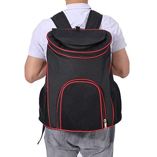 Yiwa tas voor katten met gevoerde rugzak voor huisdieren, met luchtdoorlatend mesh.