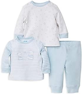Little Me 男童 Bear & Star 衬衫套装带打底裤 - 男婴,新生儿