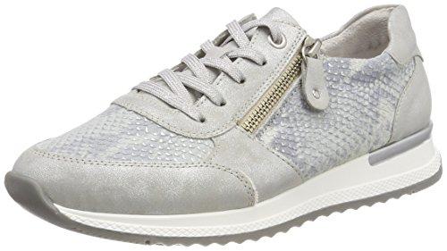 Remonte Damen R7010 Sneaker, Grau (Silber/Maus), 38 EU