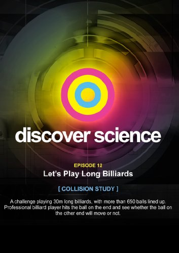 Discover Science: Let's Play Long Billiards [DVD] [Import]