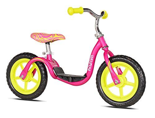 Kazam v2e No Pedal Balance Bike, Blue/Yellow