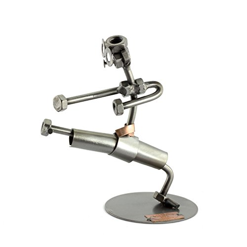 Steelman24 I Nuts and bolts sculpture Karate I Handmade ornaments I Made in Germany I I Metal figurine