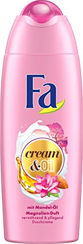 Fa douchegel Cream & Oil amandelolie magnolien-geur, 6-pack (6 x 250 ml)