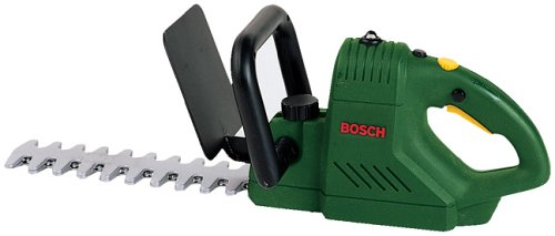 Theo Klein 8440 Bosch Hedge Trimmer I Battery-Powered Toy Hedge Trimmers with Light and Sound Functions I Dimensions: 41 cm x 13 cm x 12.5 cm I Toy for Children Aged 3 Years and up