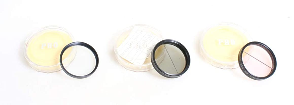 55MM FILTER SET OF 3 NEUTRAL DENSITY, DIFFUSION, 1A/+1